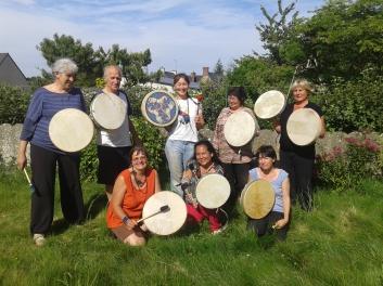 foto de grupo na bretanha - França