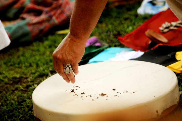 nascimento de tambores