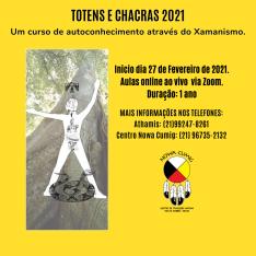 TOTENS E CHACRAS 2021